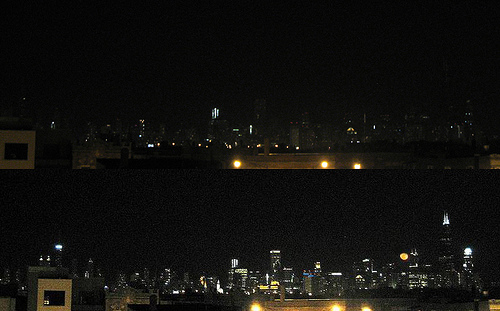 Chicago's Earth Hour 2008