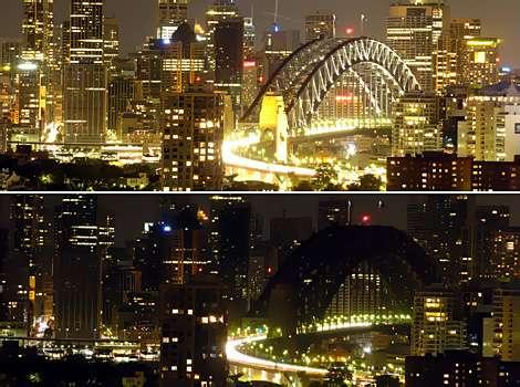 Sydney's Earth Hour 2008