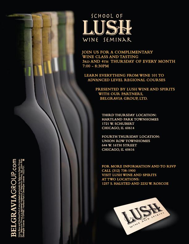 Lush flyer